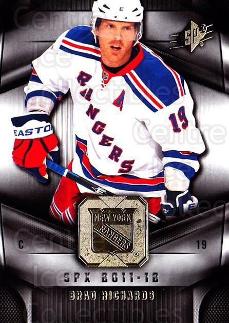 2011-12 Spx #38 Brad Richards<br/>4 In Stock - $1.00 each - <a href=https://centericecollectibles.foxycart.com/cart?name=2011-12%20Spx%20%2338%20Brad%20Richards...&quantity_max=4&price=$1.00&code=480638 class=foxycart> Buy it now! </a>