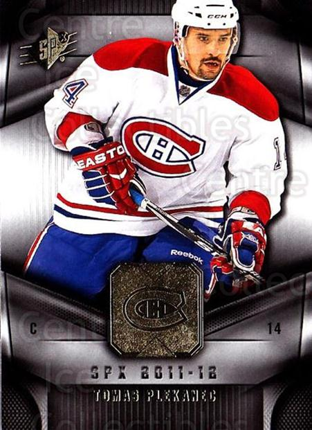 2011-12 Spx #46 Tomas Plekanec<br/>3 In Stock - $1.00 each - <a href=https://centericecollectibles.foxycart.com/cart?name=2011-12%20Spx%20%2346%20Tomas%20Plekanec...&quantity_max=3&price=$1.00&code=480646 class=foxycart> Buy it now! </a>
