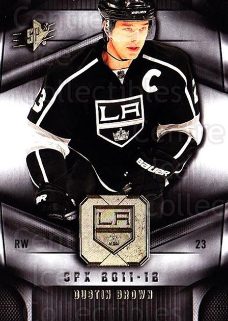 2011-12 Spx #56 Dustin Brown<br/>4 In Stock - $1.00 each - <a href=https://centericecollectibles.foxycart.com/cart?name=2011-12%20Spx%20%2356%20Dustin%20Brown...&quantity_max=4&price=$1.00&code=480656 class=foxycart> Buy it now! </a>