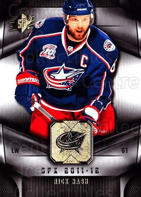2011-12 Spx #73 Rick Nash<br/>5 In Stock - $1.00 each - <a href=https://centericecollectibles.foxycart.com/cart?name=2011-12%20Spx%20%2373%20Rick%20Nash...&quantity_max=5&price=$1.00&code=480673 class=foxycart> Buy it now! </a>