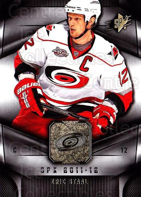 2011-12 Spx #83 Eric Staal<br/>5 In Stock - $1.00 each - <a href=https://centericecollectibles.foxycart.com/cart?name=2011-12%20Spx%20%2383%20Eric%20Staal...&quantity_max=5&price=$1.00&code=480683 class=foxycart> Buy it now! </a>