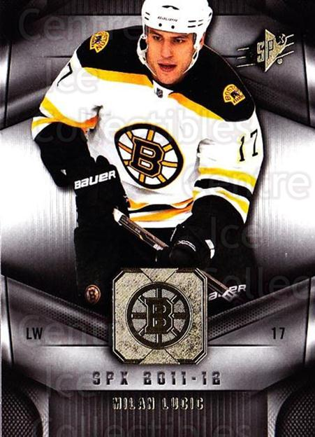 2011-12 Spx #94 Milan Lucic<br/>4 In Stock - $1.00 each - <a href=https://centericecollectibles.foxycart.com/cart?name=2011-12%20Spx%20%2394%20Milan%20Lucic...&quantity_max=4&price=$1.00&code=480694 class=foxycart> Buy it now! </a>