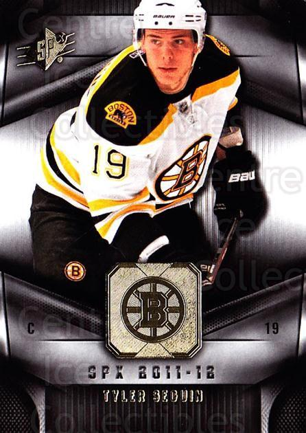 2011-12 Spx #98 Tyler Seguin<br/>4 In Stock - $1.00 each - <a href=https://centericecollectibles.foxycart.com/cart?name=2011-12%20Spx%20%2398%20Tyler%20Seguin...&quantity_max=4&price=$1.00&code=480698 class=foxycart> Buy it now! </a>