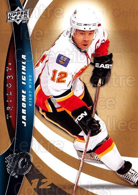2009-10 UD Trilogy #12 Jarome Iginla<br/>3 In Stock - $1.00 each - <a href=https://centericecollectibles.foxycart.com/cart?name=2009-10%20UD%20Trilogy%20%2312%20Jarome%20Iginla...&quantity_max=3&price=$1.00&code=480937 class=foxycart> Buy it now! </a>
