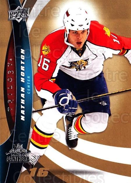 2009-10 UD Trilogy #24 Nathan Horton<br/>3 In Stock - $1.00 each - <a href=https://centericecollectibles.foxycart.com/cart?name=2009-10%20UD%20Trilogy%20%2324%20Nathan%20Horton...&quantity_max=3&price=$1.00&code=480949 class=foxycart> Buy it now! </a>