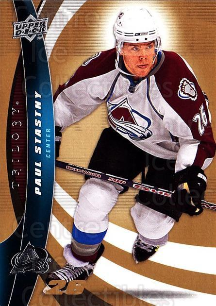 2009-10 UD Trilogy #26 Paul Stastny<br/>3 In Stock - $1.00 each - <a href=https://centericecollectibles.foxycart.com/cart?name=2009-10%20UD%20Trilogy%20%2326%20Paul%20Stastny...&quantity_max=3&price=$1.00&code=480951 class=foxycart> Buy it now! </a>