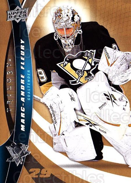 2009-10 UD Trilogy #29 Marc-Andre Fleury<br/>2 In Stock - $2.00 each - <a href=https://centericecollectibles.foxycart.com/cart?name=2009-10%20UD%20Trilogy%20%2329%20Marc-Andre%20Fleu...&quantity_max=2&price=$2.00&code=480954 class=foxycart> Buy it now! </a>