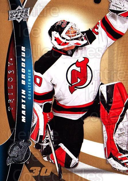 2009-10 UD Trilogy #30 Martin Brodeur<br/>1 In Stock - $3.00 each - <a href=https://centericecollectibles.foxycart.com/cart?name=2009-10%20UD%20Trilogy%20%2330%20Martin%20Brodeur...&quantity_max=1&price=$3.00&code=480955 class=foxycart> Buy it now! </a>