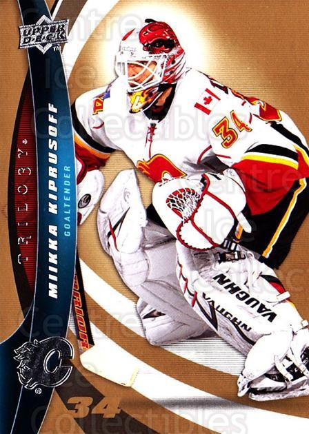 2009-10 UD Trilogy #34 Miikka Kiprusoff<br/>2 In Stock - $1.00 each - <a href=https://centericecollectibles.foxycart.com/cart?name=2009-10%20UD%20Trilogy%20%2334%20Miikka%20Kiprusof...&quantity_max=2&price=$1.00&code=480959 class=foxycart> Buy it now! </a>