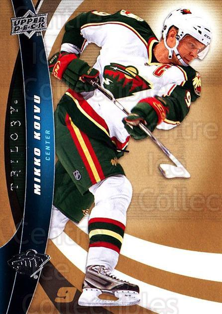 2009-10 UD Trilogy #43 Mikko Koivu<br/>3 In Stock - $1.00 each - <a href=https://centericecollectibles.foxycart.com/cart?name=2009-10%20UD%20Trilogy%20%2343%20Mikko%20Koivu...&quantity_max=3&price=$1.00&code=480968 class=foxycart> Buy it now! </a>