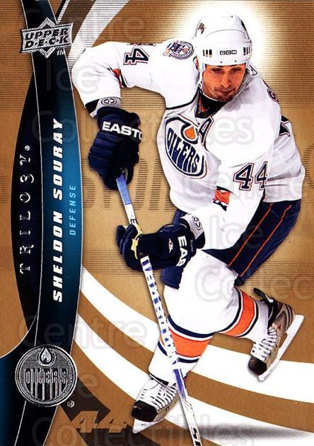 2009-10 UD Trilogy #44 Sheldon Souray<br/>2 In Stock - $1.00 each - <a href=https://centericecollectibles.foxycart.com/cart?name=2009-10%20UD%20Trilogy%20%2344%20Sheldon%20Souray...&quantity_max=2&price=$1.00&code=480969 class=foxycart> Buy it now! </a>