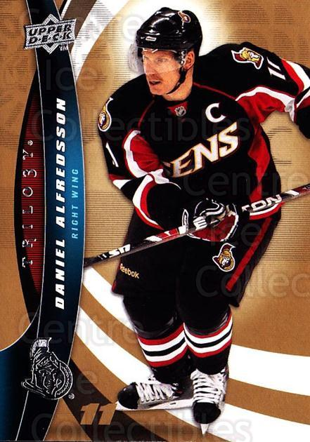 2009-10 UD Trilogy #46 Daniel Alfredsson<br/>3 In Stock - $1.00 each - <a href=https://centericecollectibles.foxycart.com/cart?name=2009-10%20UD%20Trilogy%20%2346%20Daniel%20Alfredss...&quantity_max=3&price=$1.00&code=480971 class=foxycart> Buy it now! </a>