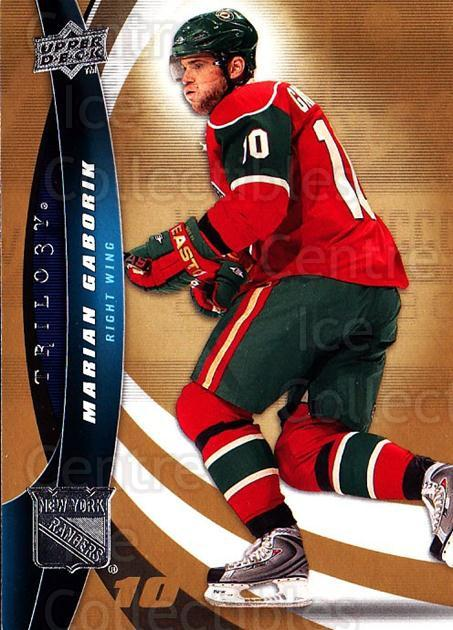 2009-10 UD Trilogy #47 Marian Gaborik<br/>3 In Stock - $1.00 each - <a href=https://centericecollectibles.foxycart.com/cart?name=2009-10%20UD%20Trilogy%20%2347%20Marian%20Gaborik...&quantity_max=3&price=$1.00&code=480972 class=foxycart> Buy it now! </a>