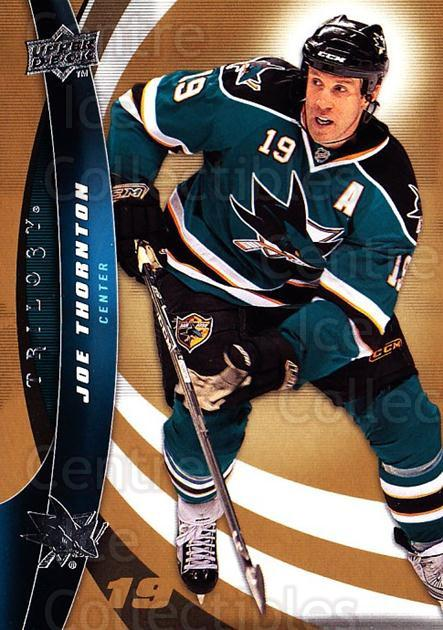 2009-10 UD Trilogy #59 Joe Thornton<br/>3 In Stock - $1.00 each - <a href=https://centericecollectibles.foxycart.com/cart?name=2009-10%20UD%20Trilogy%20%2359%20Joe%20Thornton...&quantity_max=3&price=$1.00&code=480984 class=foxycart> Buy it now! </a>