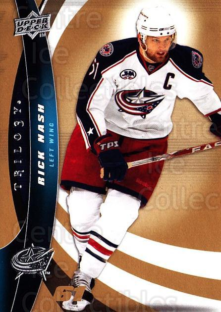 2009-10 UD Trilogy #61 Rick Nash<br/>3 In Stock - $1.00 each - <a href=https://centericecollectibles.foxycart.com/cart?name=2009-10%20UD%20Trilogy%20%2361%20Rick%20Nash...&quantity_max=3&price=$1.00&code=480986 class=foxycart> Buy it now! </a>