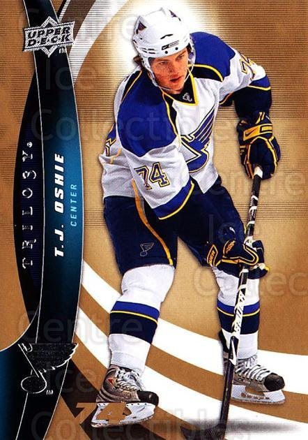 2009-10 UD Trilogy #74 TJ Oshie<br/>3 In Stock - $1.00 each - <a href=https://centericecollectibles.foxycart.com/cart?name=2009-10%20UD%20Trilogy%20%2374%20TJ%20Oshie...&quantity_max=3&price=$1.00&code=480999 class=foxycart> Buy it now! </a>