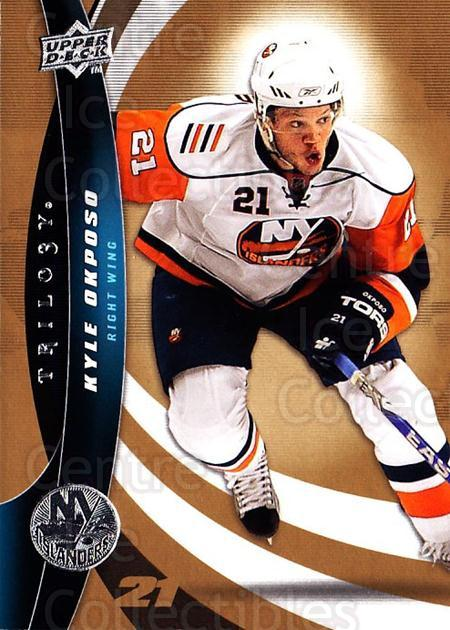 2009-10 UD Trilogy #76 Kyle Okposo<br/>3 In Stock - $1.00 each - <a href=https://centericecollectibles.foxycart.com/cart?name=2009-10%20UD%20Trilogy%20%2376%20Kyle%20Okposo...&quantity_max=3&price=$1.00&code=481001 class=foxycart> Buy it now! </a>