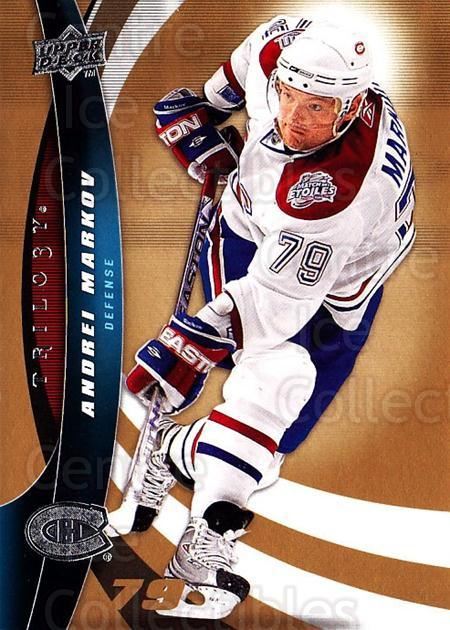 2009-10 UD Trilogy #79 Andrei Markov<br/>2 In Stock - $1.00 each - <a href=https://centericecollectibles.foxycart.com/cart?name=2009-10%20UD%20Trilogy%20%2379%20Andrei%20Markov...&quantity_max=2&price=$1.00&code=481004 class=foxycart> Buy it now! </a>