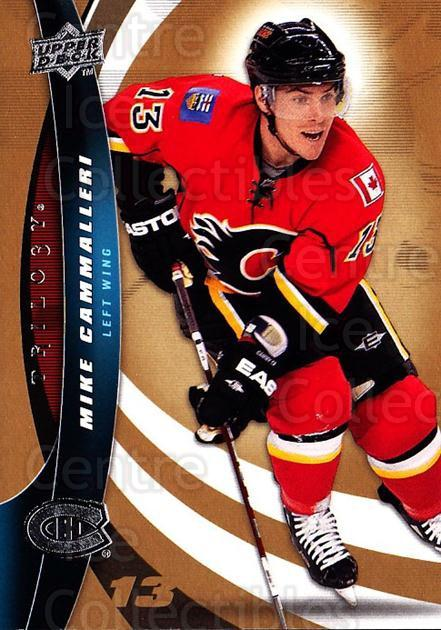 2009-10 UD Trilogy #82 Mike Cammalleri<br/>3 In Stock - $1.00 each - <a href=https://centericecollectibles.foxycart.com/cart?name=2009-10%20UD%20Trilogy%20%2382%20Mike%20Cammalleri...&quantity_max=3&price=$1.00&code=481007 class=foxycart> Buy it now! </a>