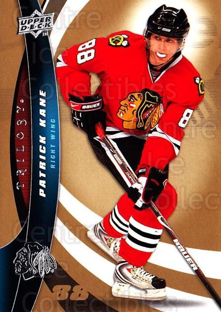2009-10 UD Trilogy #88 Patrick Kane<br/>2 In Stock - $2.00 each - <a href=https://centericecollectibles.foxycart.com/cart?name=2009-10%20UD%20Trilogy%20%2388%20Patrick%20Kane...&quantity_max=2&price=$2.00&code=481013 class=foxycart> Buy it now! </a>