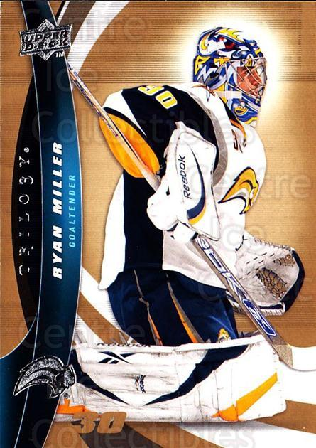 2009-10 UD Trilogy #90 Ryan Miller<br/>3 In Stock - $1.00 each - <a href=https://centericecollectibles.foxycart.com/cart?name=2009-10%20UD%20Trilogy%20%2390%20Ryan%20Miller...&quantity_max=3&price=$1.00&code=481015 class=foxycart> Buy it now! </a>