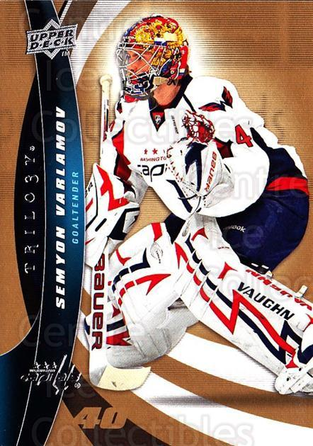 2009-10 UD Trilogy #92 Simeon Varlamov<br/>3 In Stock - $1.00 each - <a href=https://centericecollectibles.foxycart.com/cart?name=2009-10%20UD%20Trilogy%20%2392%20Simeon%20Varlamov...&quantity_max=3&price=$1.00&code=481017 class=foxycart> Buy it now! </a>