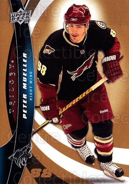 2009-10 UD Trilogy #98 Peter Mueller<br/>2 In Stock - $1.00 each - <a href=https://centericecollectibles.foxycart.com/cart?name=2009-10%20UD%20Trilogy%20%2398%20Peter%20Mueller...&quantity_max=2&price=$1.00&code=481023 class=foxycart> Buy it now! </a>