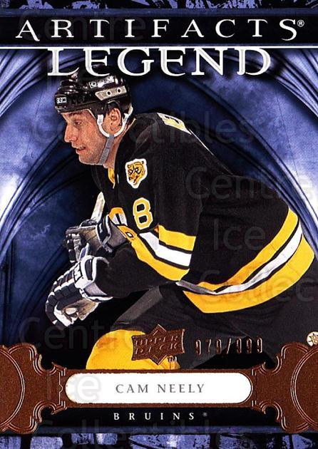 2009-10 UD Artifacts #122 Cam Neely<br/>1 In Stock - $3.00 each - <a href=https://centericecollectibles.foxycart.com/cart?name=2009-10%20UD%20Artifacts%20%23122%20Cam%20Neely...&quantity_max=1&price=$3.00&code=481117 class=foxycart> Buy it now! </a>