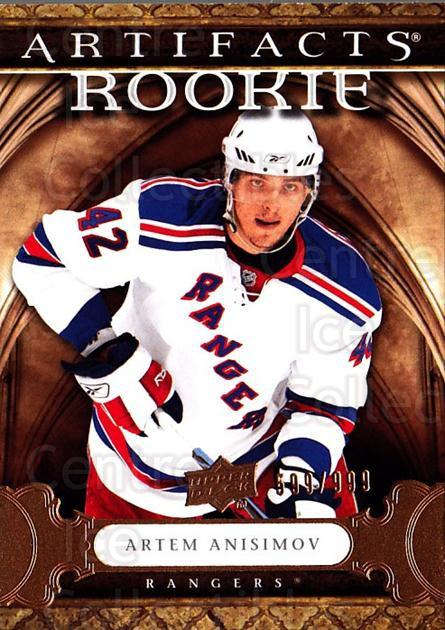 2009-10 UD Artifacts #172 Artem Anisimov<br/>3 In Stock - $5.00 each - <a href=https://centericecollectibles.foxycart.com/cart?name=2009-10%20UD%20Artifacts%20%23172%20Artem%20Anisimov...&quantity_max=3&price=$5.00&code=481167 class=foxycart> Buy it now! </a>