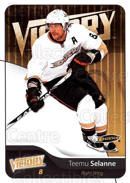 2011-12 UD Victory #3 Teemu Selanne<br/>4 In Stock - $2.00 each - <a href=https://centericecollectibles.foxycart.com/cart?name=2011-12%20UD%20Victory%20%233%20Teemu%20Selanne...&quantity_max=4&price=$2.00&code=481240 class=foxycart> Buy it now! </a>