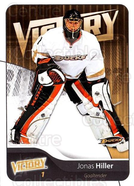 2011-12 UD Victory #6 Jonas Hiller<br/>3 In Stock - $1.00 each - <a href=https://centericecollectibles.foxycart.com/cart?name=2011-12%20UD%20Victory%20%236%20Jonas%20Hiller...&quantity_max=3&price=$1.00&code=481243 class=foxycart> Buy it now! </a>