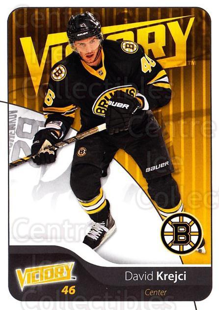 2011-12 UD Victory #13 David Krejci<br/>3 In Stock - $1.00 each - <a href=https://centericecollectibles.foxycart.com/cart?name=2011-12%20UD%20Victory%20%2313%20David%20Krejci...&quantity_max=3&price=$1.00&code=481250 class=foxycart> Buy it now! </a>
