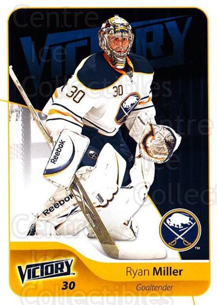 2011-12 UD Victory #27 Ryan Miller<br/>3 In Stock - $1.00 each - <a href=https://centericecollectibles.foxycart.com/cart?name=2011-12%20UD%20Victory%20%2327%20Ryan%20Miller...&quantity_max=3&price=$1.00&code=481264 class=foxycart> Buy it now! </a>