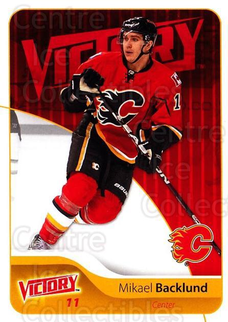 2011-12 UD Victory #35 Mikael Backlund<br/>4 In Stock - $1.00 each - <a href=https://centericecollectibles.foxycart.com/cart?name=2011-12%20UD%20Victory%20%2335%20Mikael%20Backlund...&quantity_max=4&price=$1.00&code=481272 class=foxycart> Buy it now! </a>