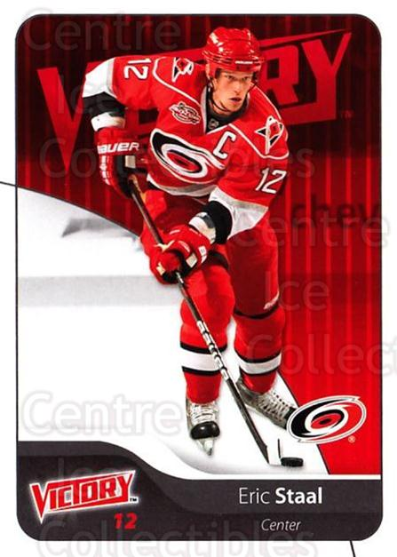 2011-12 UD Victory #36 Eric Staal<br/>2 In Stock - $1.00 each - <a href=https://centericecollectibles.foxycart.com/cart?name=2011-12%20UD%20Victory%20%2336%20Eric%20Staal...&quantity_max=2&price=$1.00&code=481273 class=foxycart> Buy it now! </a>