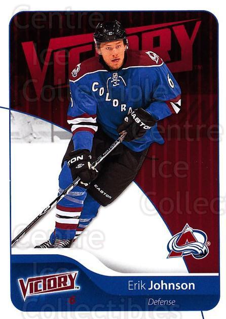 2011-12 UD Victory #54 Erik Johnson<br/>4 In Stock - $1.00 each - <a href=https://centericecollectibles.foxycart.com/cart?name=2011-12%20UD%20Victory%20%2354%20Erik%20Johnson...&quantity_max=4&price=$1.00&code=481291 class=foxycart> Buy it now! </a>