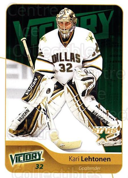 2011-12 UD Victory #66 Kari Lehtonen<br/>4 In Stock - $1.00 each - <a href=https://centericecollectibles.foxycart.com/cart?name=2011-12%20UD%20Victory%20%2366%20Kari%20Lehtonen...&quantity_max=4&price=$1.00&code=481303 class=foxycart> Buy it now! </a>