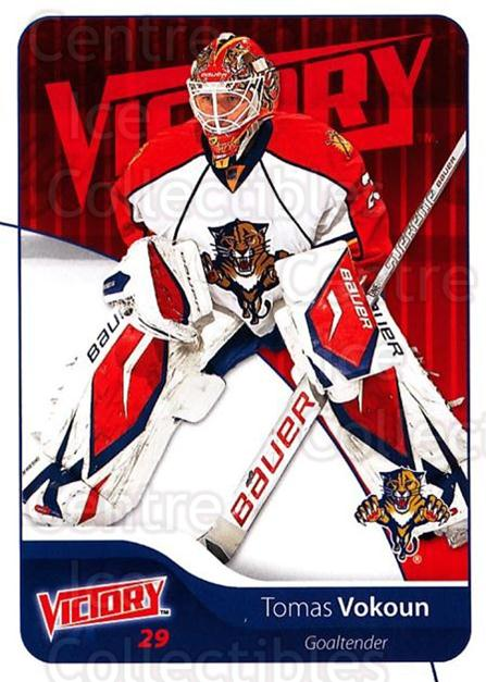 2011-12 UD Victory #82 Tomas Vokoun<br/>3 In Stock - $1.00 each - <a href=https://centericecollectibles.foxycart.com/cart?name=2011-12%20UD%20Victory%20%2382%20Tomas%20Vokoun...&quantity_max=3&price=$1.00&code=481319 class=foxycart> Buy it now! </a>