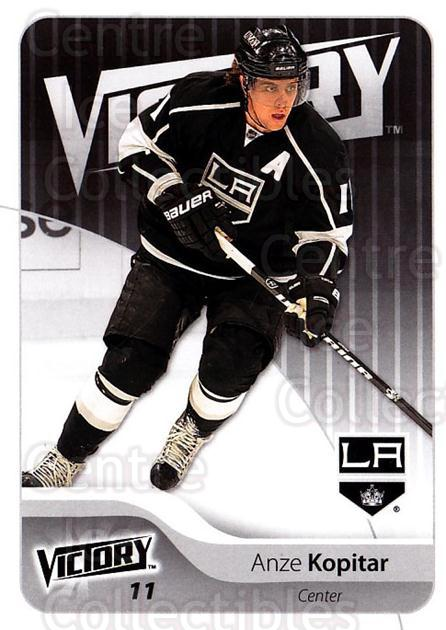 2011-12 UD Victory #85 Anze Kopitar<br/>4 In Stock - $1.00 each - <a href=https://centericecollectibles.foxycart.com/cart?name=2011-12%20UD%20Victory%20%2385%20Anze%20Kopitar...&quantity_max=4&price=$1.00&code=481322 class=foxycart> Buy it now! </a>