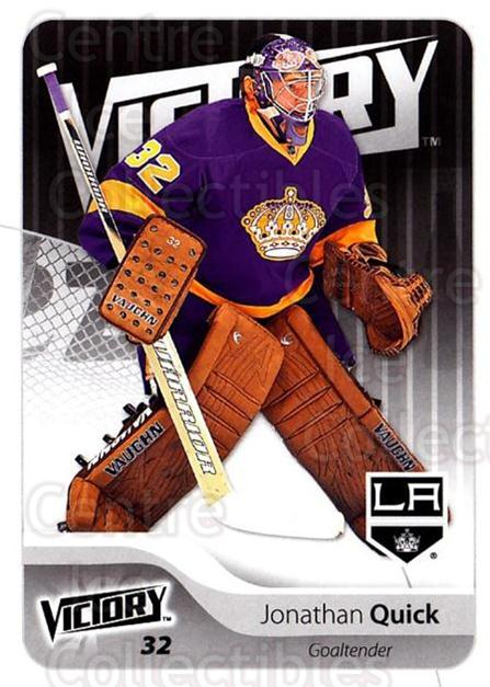 2011-12 UD Victory #88 Jonathan Quick<br/>4 In Stock - $1.00 each - <a href=https://centericecollectibles.foxycart.com/cart?name=2011-12%20UD%20Victory%20%2388%20Jonathan%20Quick...&quantity_max=4&price=$1.00&code=481325 class=foxycart> Buy it now! </a>