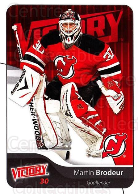 2011-12 UD Victory #115 Martin Brodeur<br/>4 In Stock - $2.00 each - <a href=https://centericecollectibles.foxycart.com/cart?name=2011-12%20UD%20Victory%20%23115%20Martin%20Brodeur...&quantity_max=4&price=$2.00&code=481352 class=foxycart> Buy it now! </a>