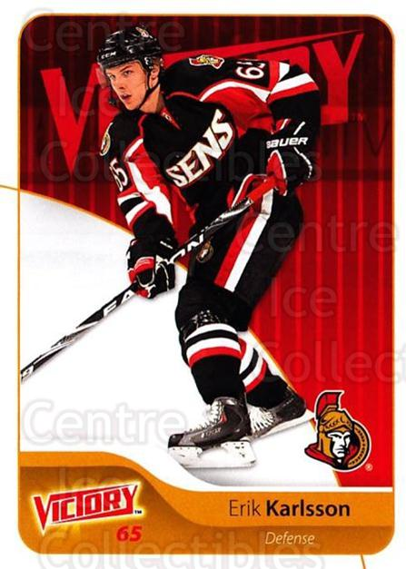 2011-12 UD Victory #132 Erik Karlsson<br/>4 In Stock - $1.00 each - <a href=https://centericecollectibles.foxycart.com/cart?name=2011-12%20UD%20Victory%20%23132%20Erik%20Karlsson...&quantity_max=4&price=$1.00&code=481369 class=foxycart> Buy it now! </a>
