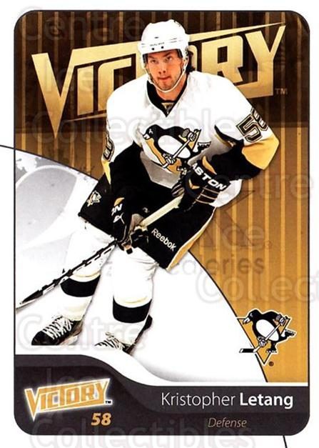 2011-12 UD Victory #150 Kristopher Letang<br/>3 In Stock - $1.00 each - <a href=https://centericecollectibles.foxycart.com/cart?name=2011-12%20UD%20Victory%20%23150%20Kristopher%20Leta...&quantity_max=3&price=$1.00&code=481387 class=foxycart> Buy it now! </a>