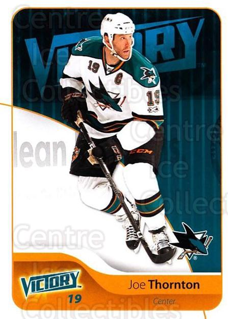 2011-12 UD Victory #157 Joe Thornton<br/>4 In Stock - $1.00 each - <a href=https://centericecollectibles.foxycart.com/cart?name=2011-12%20UD%20Victory%20%23157%20Joe%20Thornton...&quantity_max=4&price=$1.00&code=481394 class=foxycart> Buy it now! </a>