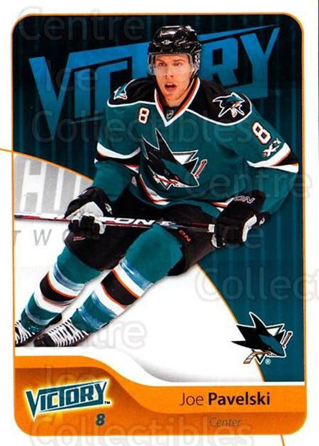 2011-12 UD Victory #160 Joe Pavelski<br/>4 In Stock - $1.00 each - <a href=https://centericecollectibles.foxycart.com/cart?name=2011-12%20UD%20Victory%20%23160%20Joe%20Pavelski...&quantity_max=4&price=$1.00&code=481397 class=foxycart> Buy it now! </a>