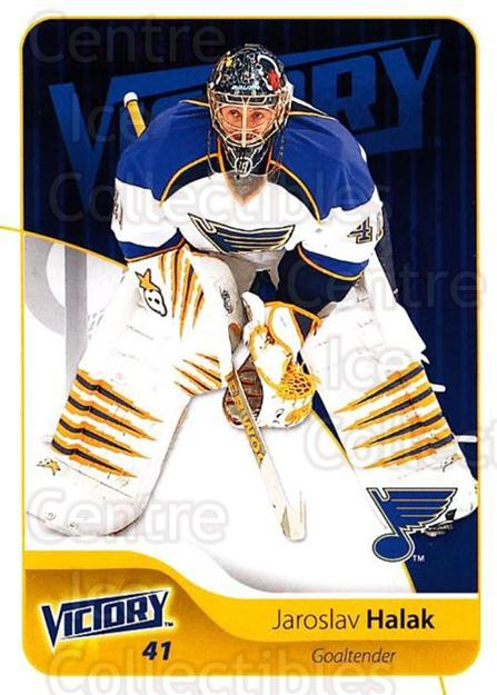 2011-12 UD Victory #167 Jaroslav Halak<br/>3 In Stock - $1.00 each - <a href=https://centericecollectibles.foxycart.com/cart?name=2011-12%20UD%20Victory%20%23167%20Jaroslav%20Halak...&quantity_max=3&price=$1.00&code=481404 class=foxycart> Buy it now! </a>
