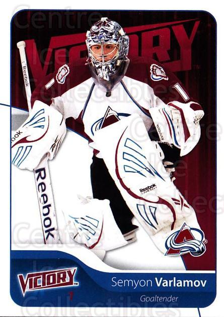2011-12 UD Victory #253 Semyon Varlamov<br/>6 In Stock - $1.00 each - <a href=https://centericecollectibles.foxycart.com/cart?name=2011-12%20UD%20Victory%20%23253%20Semyon%20Varlamov...&quantity_max=6&price=$1.00&code=481490 class=foxycart> Buy it now! </a>