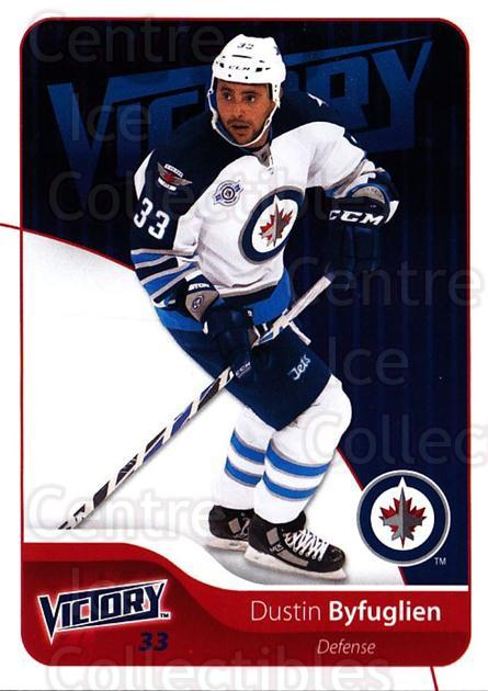 2011-12 UD Victory #277 Dustin Byfuglien<br/>6 In Stock - $1.00 each - <a href=https://centericecollectibles.foxycart.com/cart?name=2011-12%20UD%20Victory%20%23277%20Dustin%20Byfuglie...&quantity_max=6&price=$1.00&code=481514 class=foxycart> Buy it now! </a>