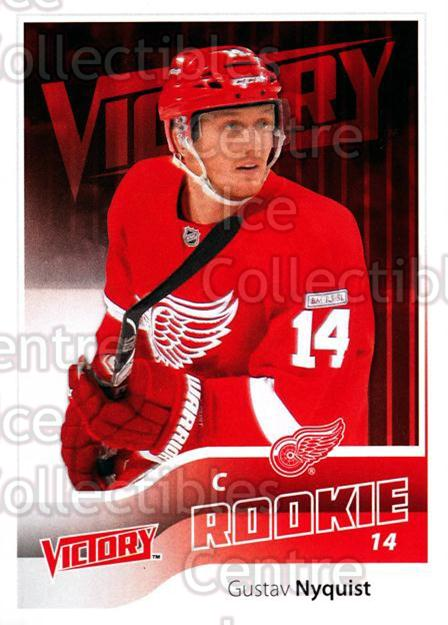 2011-12 UD Victory #288 Gustav Nyquist<br/>3 In Stock - $2.00 each - <a href=https://centericecollectibles.foxycart.com/cart?name=2011-12%20UD%20Victory%20%23288%20Gustav%20Nyquist...&quantity_max=3&price=$2.00&code=481525 class=foxycart> Buy it now! </a>