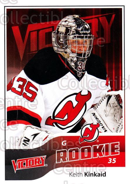 2011-12 UD Victory #299 Keith Kinkaid<br/>5 In Stock - $2.00 each - <a href=https://centericecollectibles.foxycart.com/cart?name=2011-12%20UD%20Victory%20%23299%20Keith%20Kinkaid...&quantity_max=5&price=$2.00&code=481536 class=foxycart> Buy it now! </a>